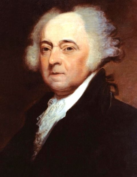Portrait of President John Adams