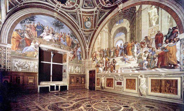 Raphael Room in Vatican Museum