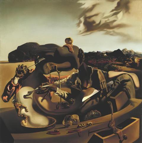 Salvador Dalí, 'Autumnal Cannibalism' 1936