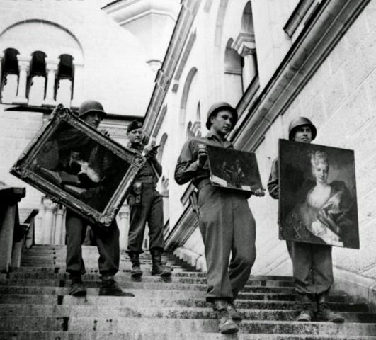 Stolen Paintings by Red Army