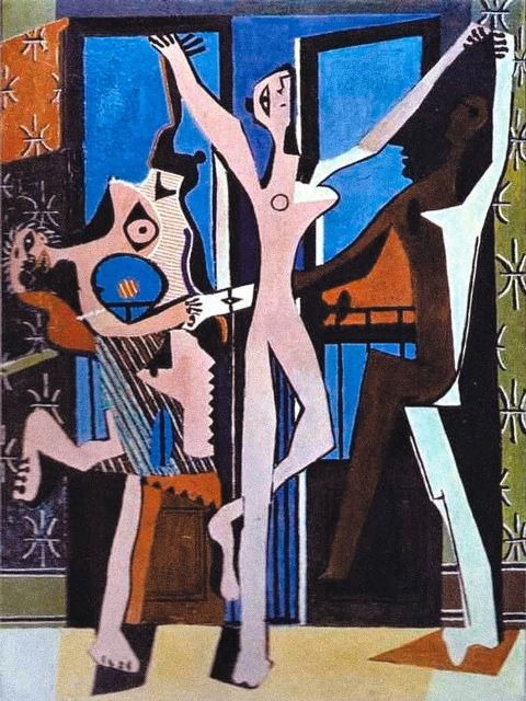 Picasso's The Three Dancers