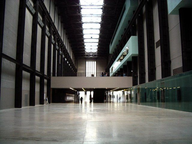 The Turbine Hall at Tate Modern, London