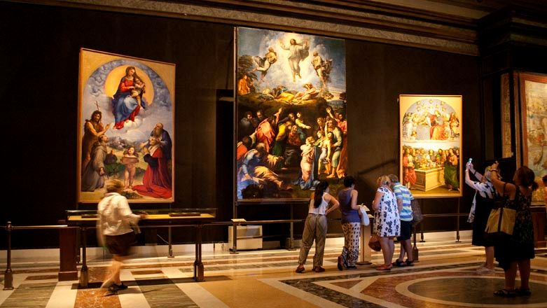 Vatican Pinacoteca, Art Gallery