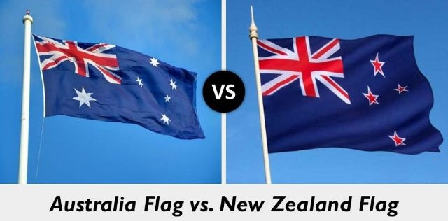 Australia Flag vs New Zealand Flag