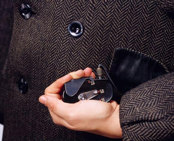 Coat Button Camera