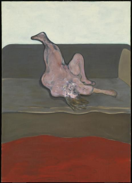 Francis Bacon's 'Reclining Woman'