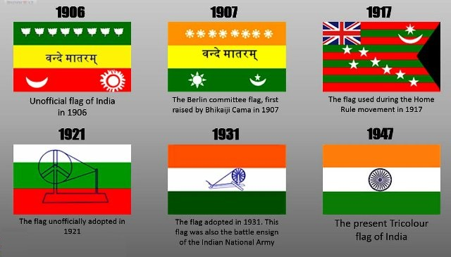 Indian Flag History