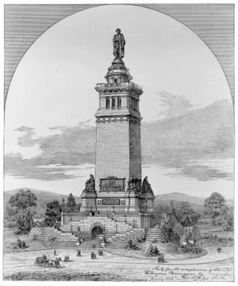 Original Design of Monument