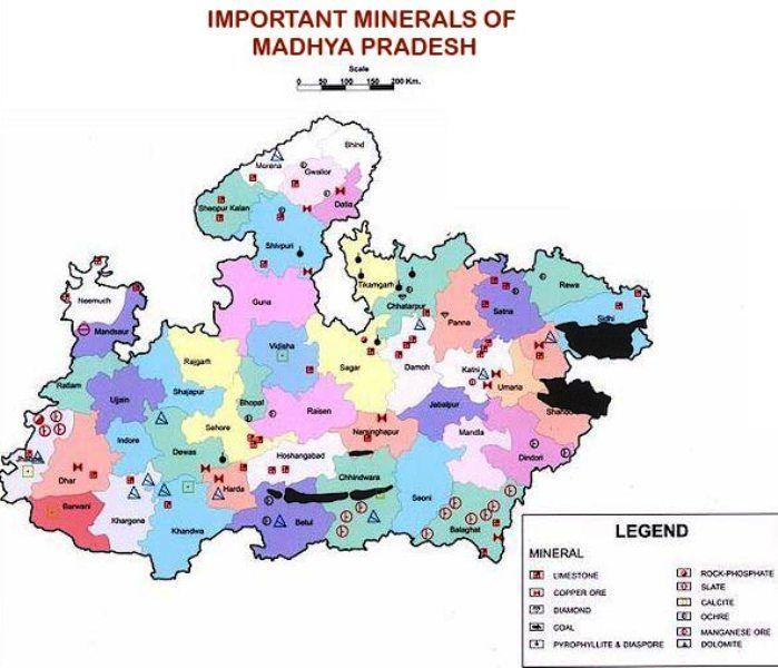 Madhya Pradesh Minerals