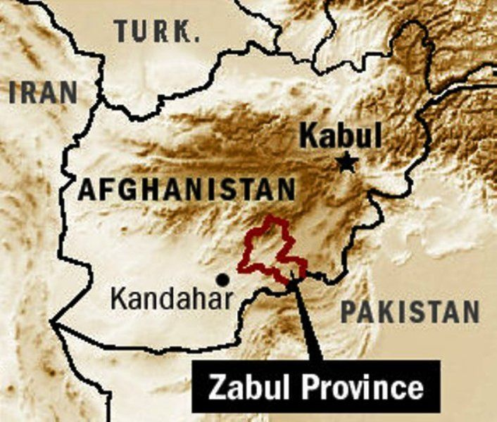 Zabul Province Afghanistan