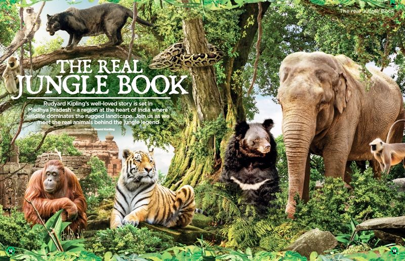 The Jungle Book And India
