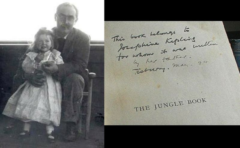 The Jungle Book And Rudyard Kipling Daughter Josephine