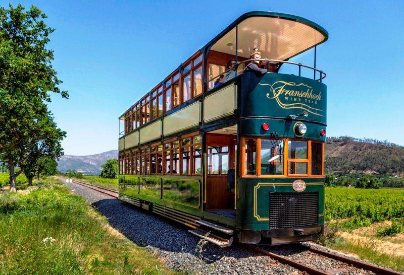 Franschhoek Wine Tram Cape Town