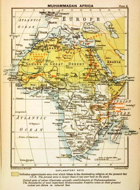 Muhammadanism in Africa