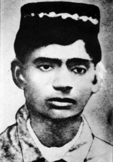 Sardar Patel as a school boy
