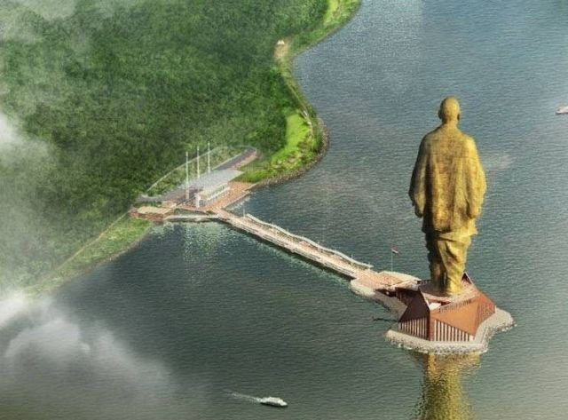 The Statue of Unity Tallest Statue In The World