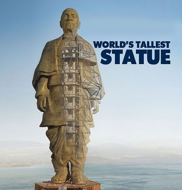 The Statue of Unity in Gujarat