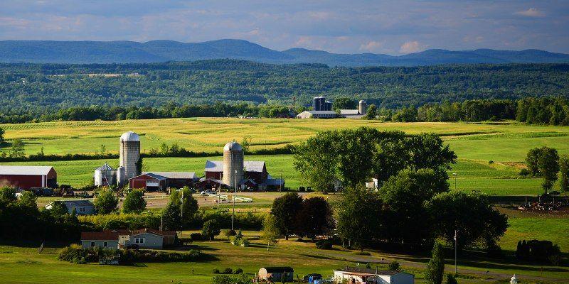 Farmlands in Montgomery