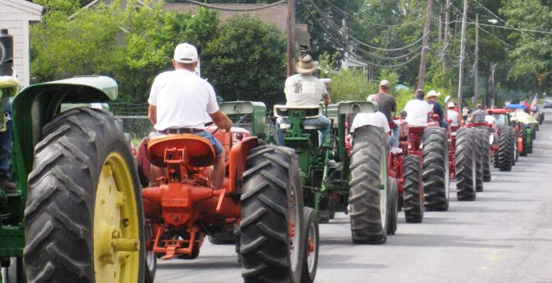 Tractor Parade, Montgomery, New York