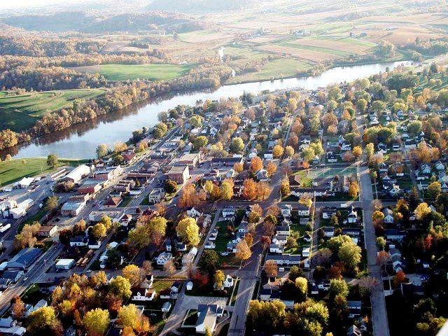 Aerial View of Hillsboro