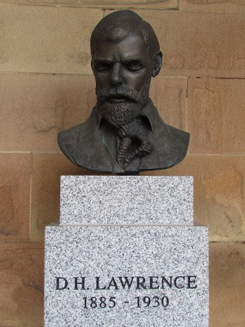 Bust of D. H. Lawrence