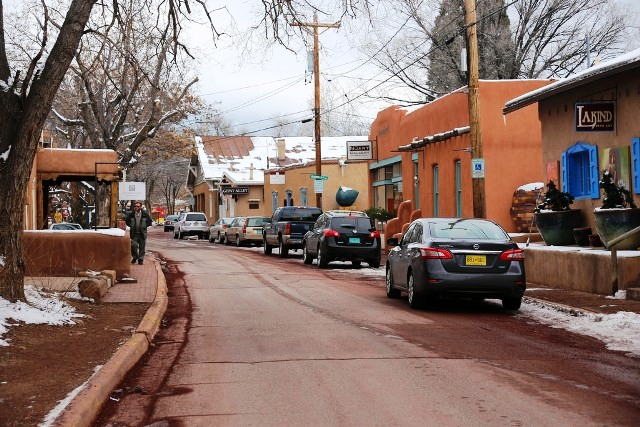 Canyon Road Art Gallery, Santa Fe