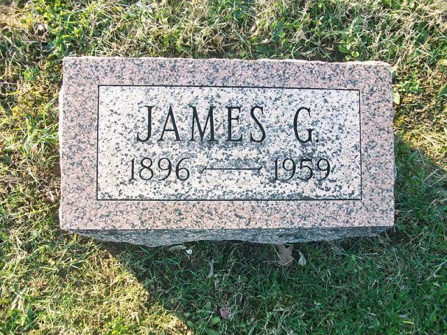 Gravemarker of James G. Polk