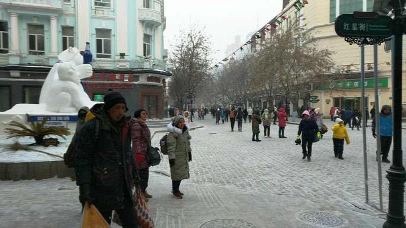 Harbin City In Winters