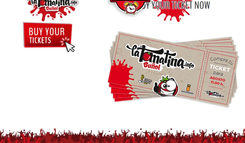 La Tomatina Ticket
