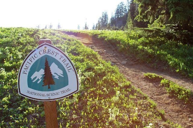 Pacific Crest Trail plaque