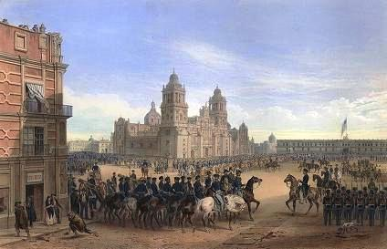 Portrait of Mexico City Battle