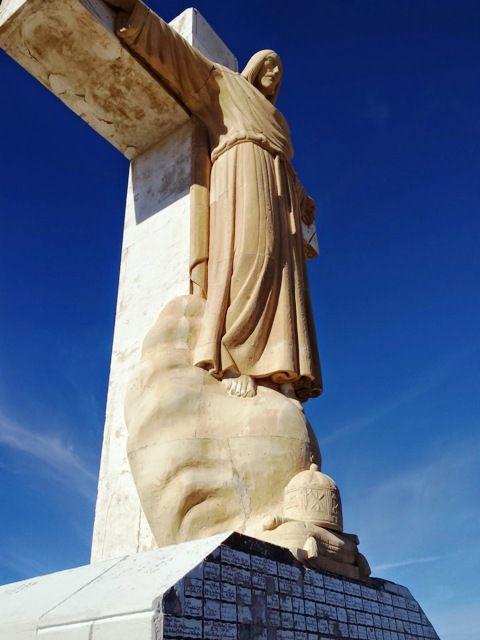 Statue of Jesus Christ on Mount Christo Rey