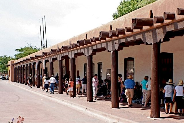 The Palace of Governors, Santa Fe