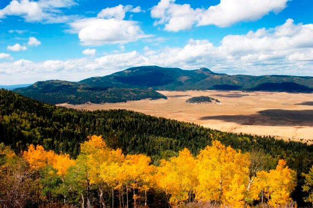 Valles Caldera region in New Mexico