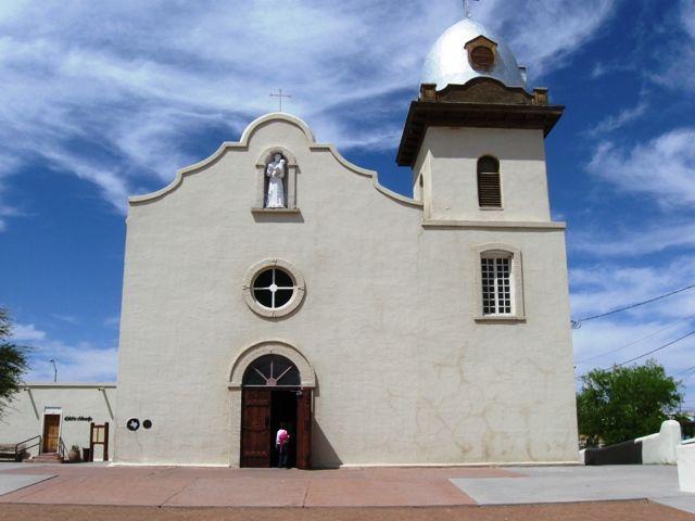 Ysleta Del Sur church in El Paso