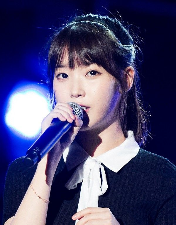 IU at Boryeong Mud Fest