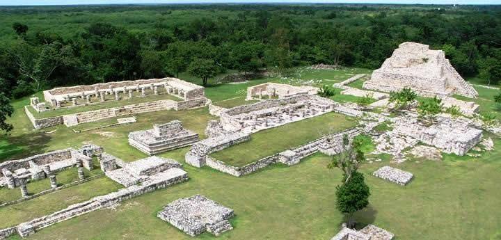 Mayapan Ruins Panorama