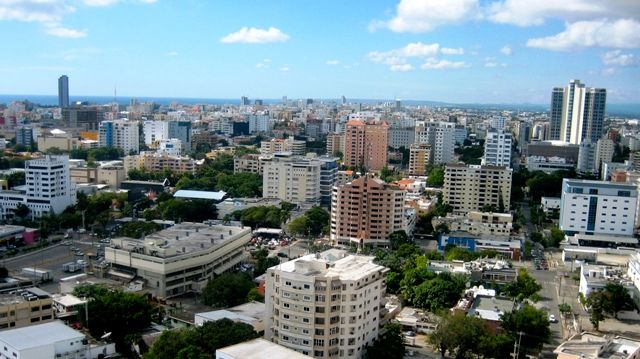 Panoramic view of Santo Domingo