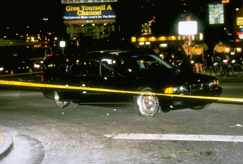 The BMW Car that Tupac Shakur was Murdered in
