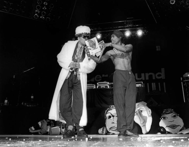 Tupac Shakur As A Backup Dancer Of Digital Underground