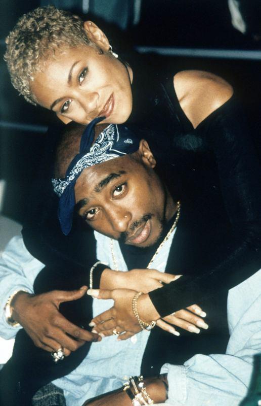 Tupac Shakur With JadaPinkett