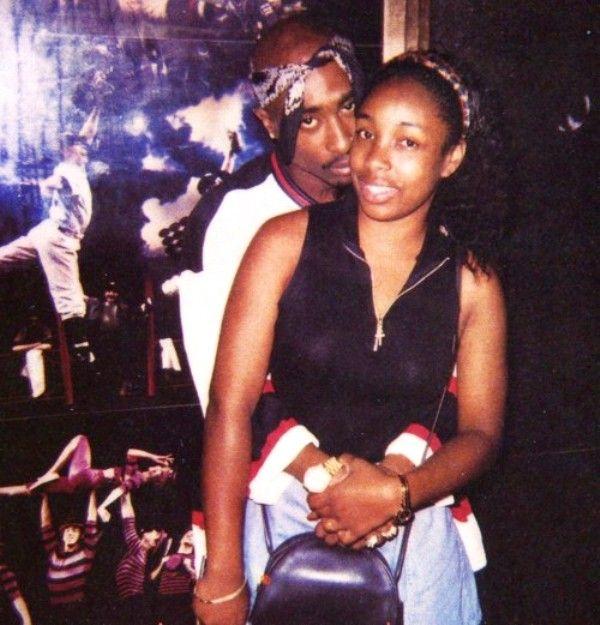 Tupac Shakur With Keisha Morris