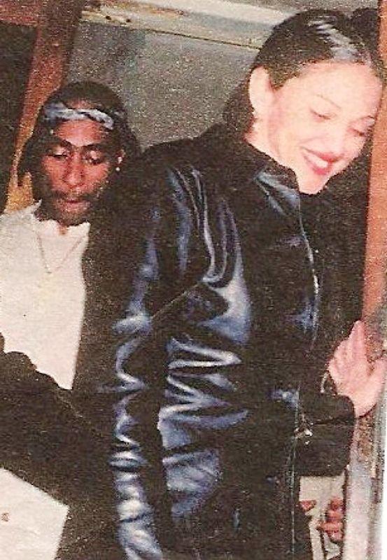 Tupac Shakur With Madonna