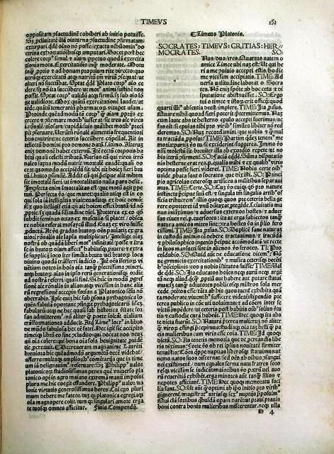 A fifteenth-century Latin translation of Plato's Timaeus