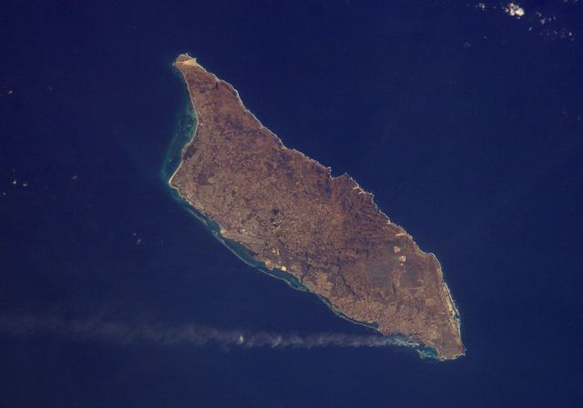 Aerial view of Aruba