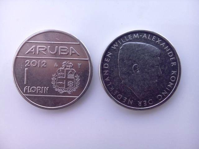 Aruban Florin coins