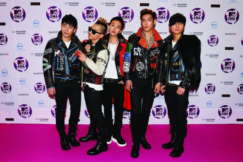 Bigbang- The Famous K-pop Band Of South Korea