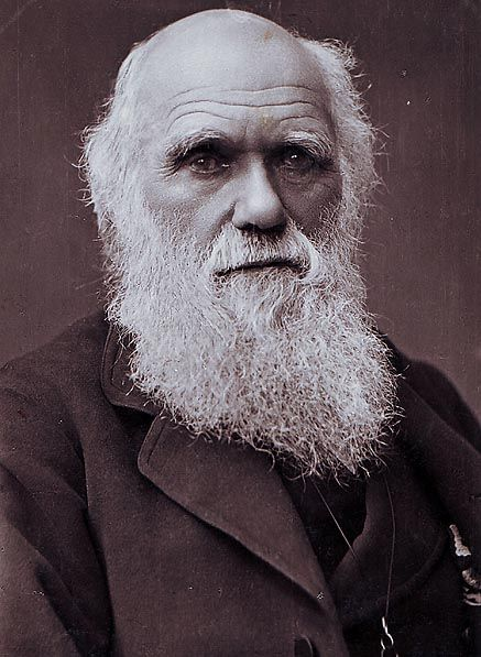 Charles Darwin photograph by Herbert Rose Barraud, 1881
