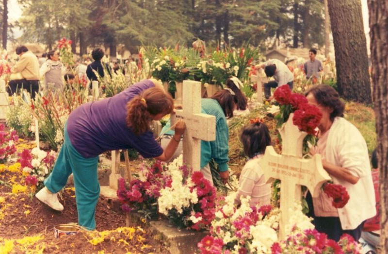 Decorating The Cemetery