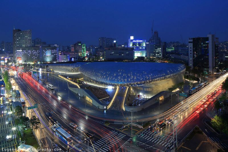 Dongdaemun Design Plaza In Seoul